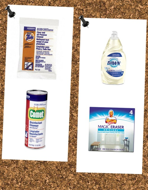 P&G Cleaning Supplies