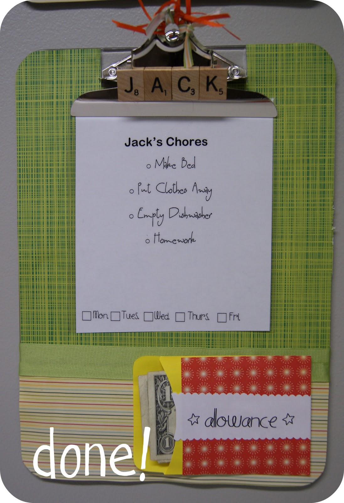 10 Ways To Organize And Decorate With Clipboards Restockit Com