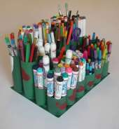 tp roll pencil