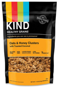 Kind Oats/Honey Clusters